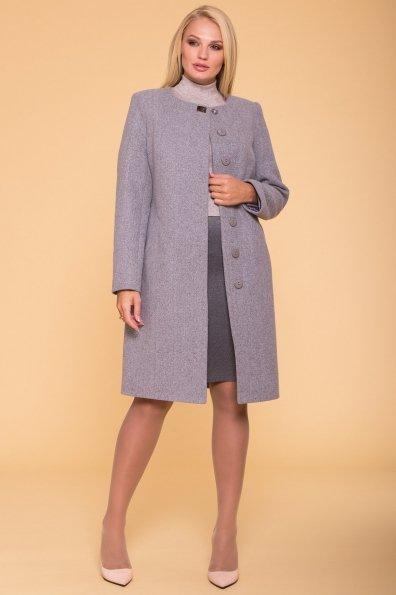 Пальто Фортуна лайт Donna 4464 Цвет: Серый 49