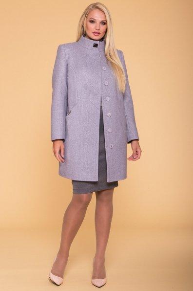 Пальто Сплит DONNA 4466 Цвет: Серый 20