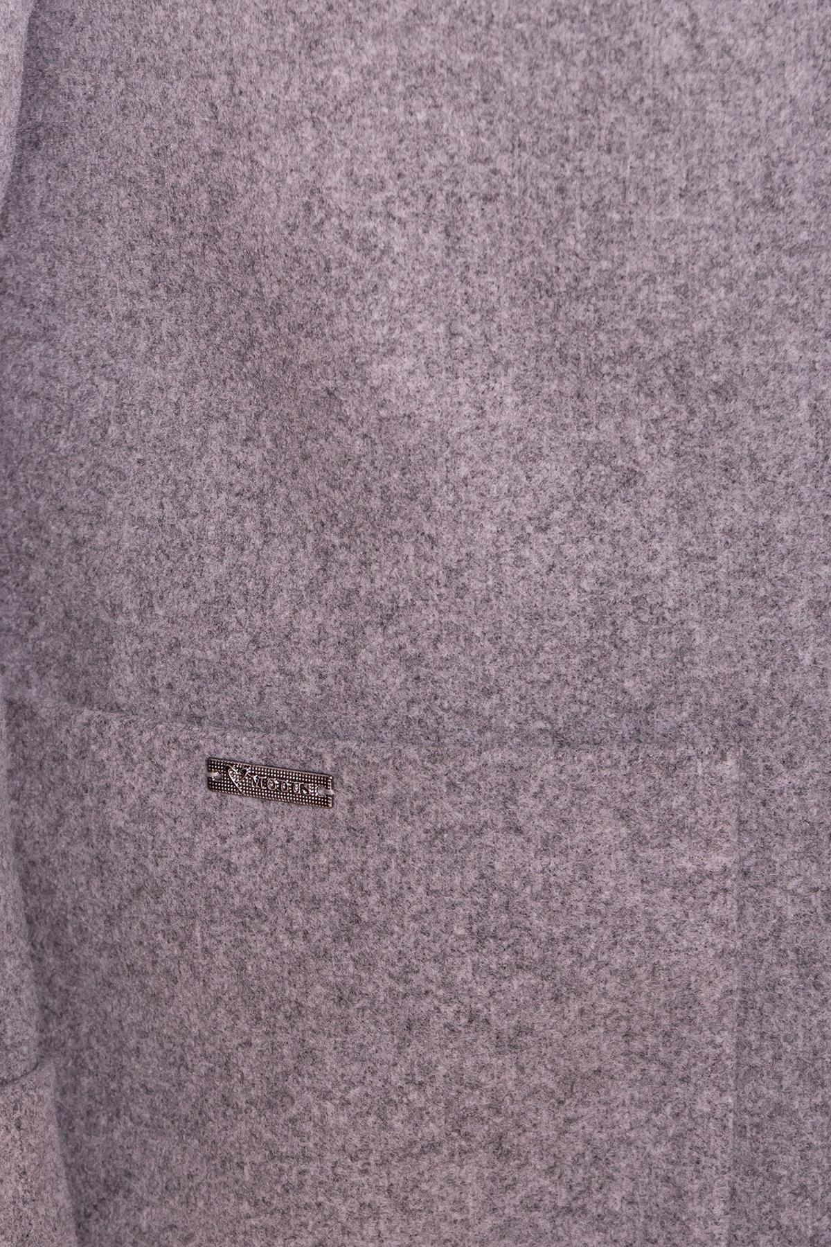 Пальто Ажен лайт 6683 Цвет: Серый 49