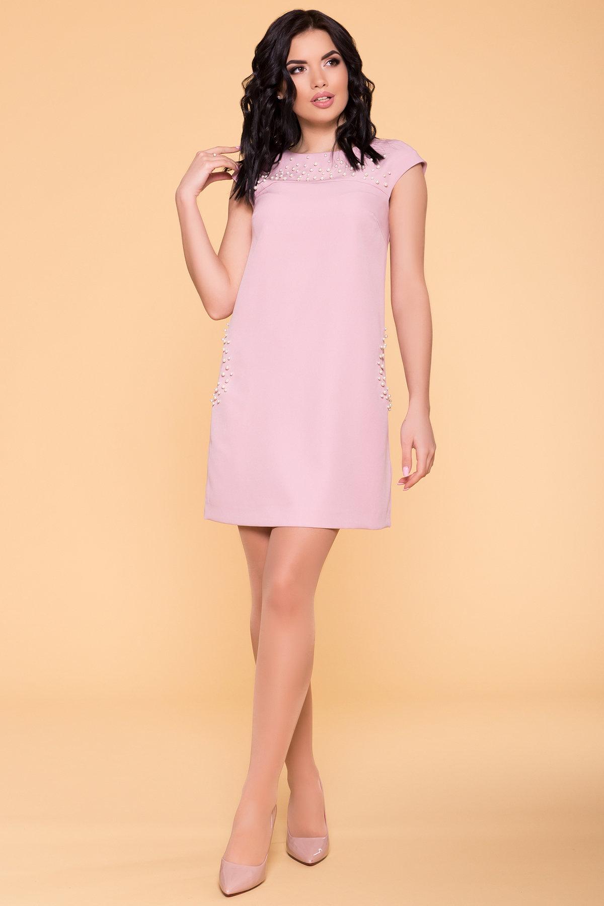 Купить платья оптом Украина Платье с коротким рукавом Мими 4886