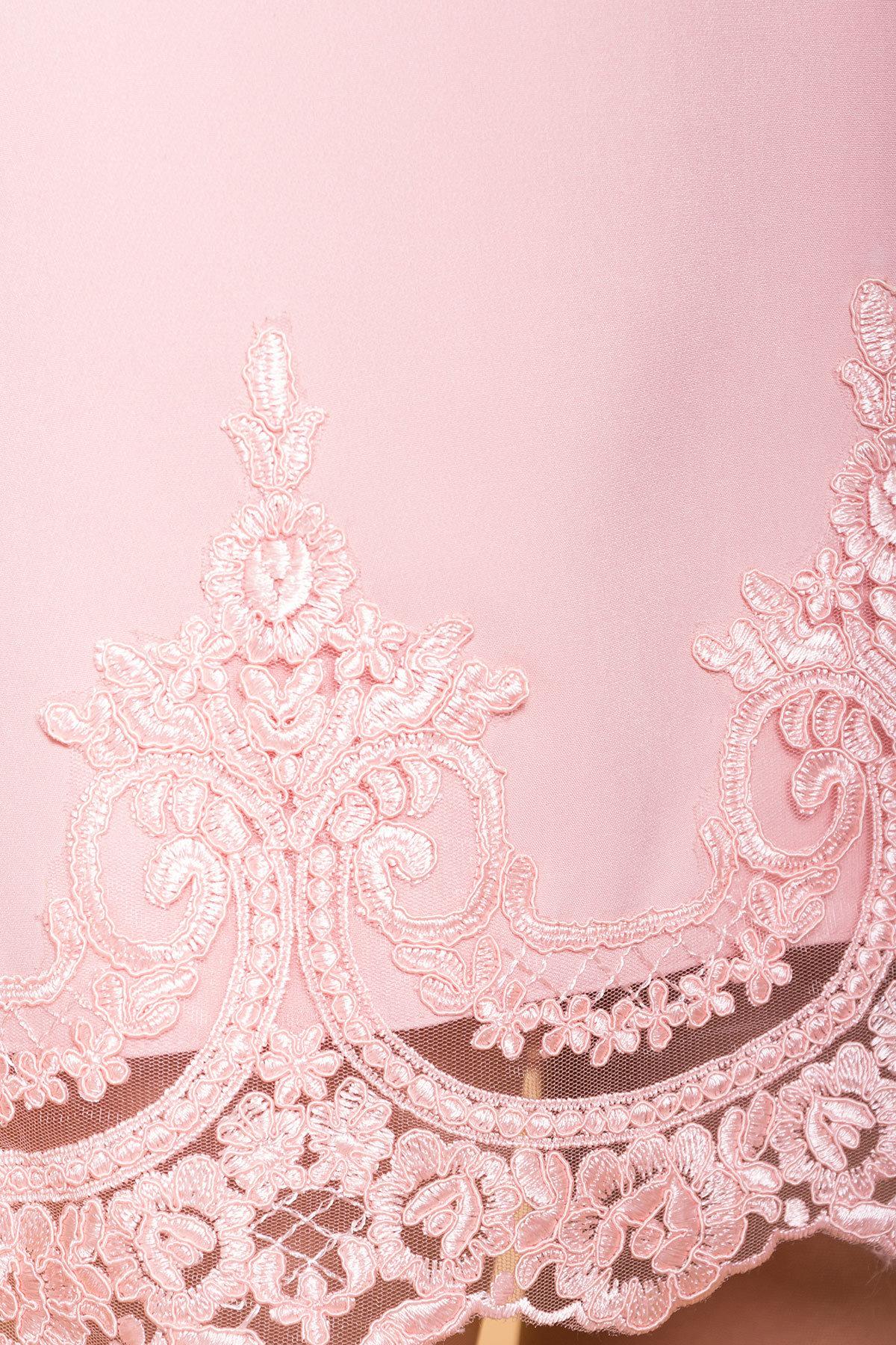 Платье Лера 6433 Цвет: Пудра