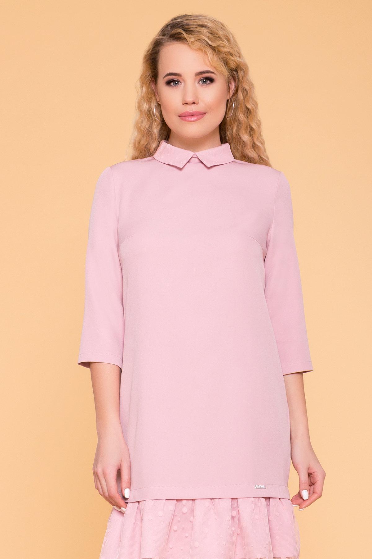 Платье Грейси 5949 АРТ. 41719 Цвет: Пудра 138 - фото 3, интернет магазин tm-modus.ru