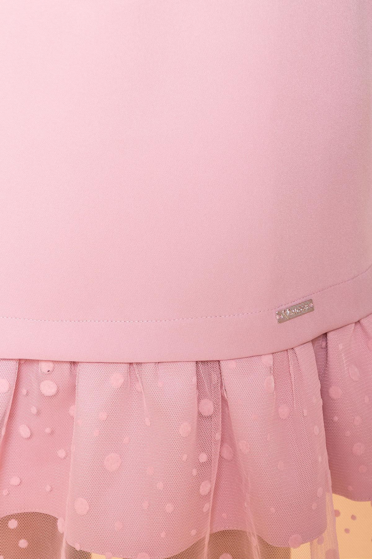 Платье Грейси 5949 АРТ. 41719 Цвет: Пудра 138 - фото 4, интернет магазин tm-modus.ru