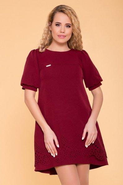 Романтичное Платье Эбби 6515 Цвет: Марсала 9