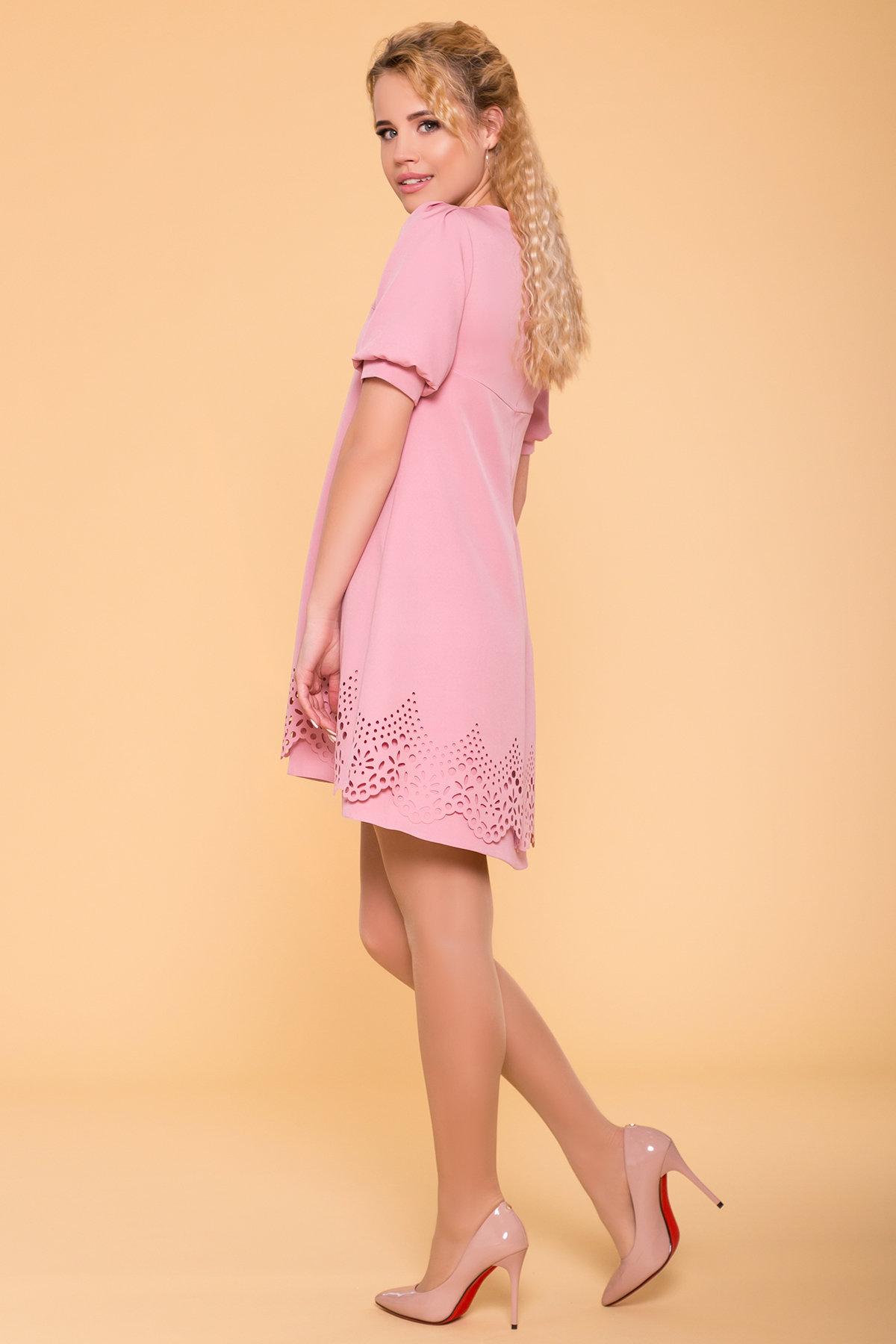 Романтичное Платье Эбби 6515 Цвет: Пудра 15