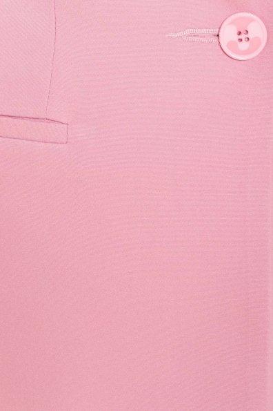 Однотонный приталенный жакет Эдвин 2734 Цвет: Пудра