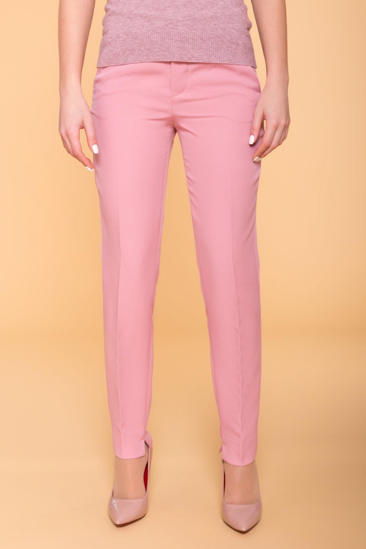 Базовые брюки со стрелками Эдвин 2467 АРТ. 41707 Цвет: Пудра - фото 4, интернет магазин tm-modus.ru