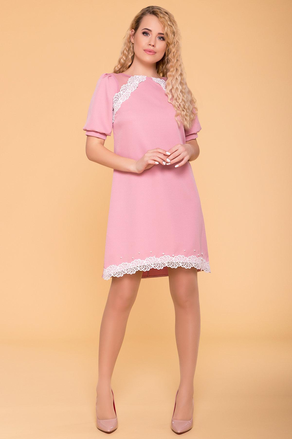 Платья от украинского производителя Платье с рукавом фонарик Алексис 6650