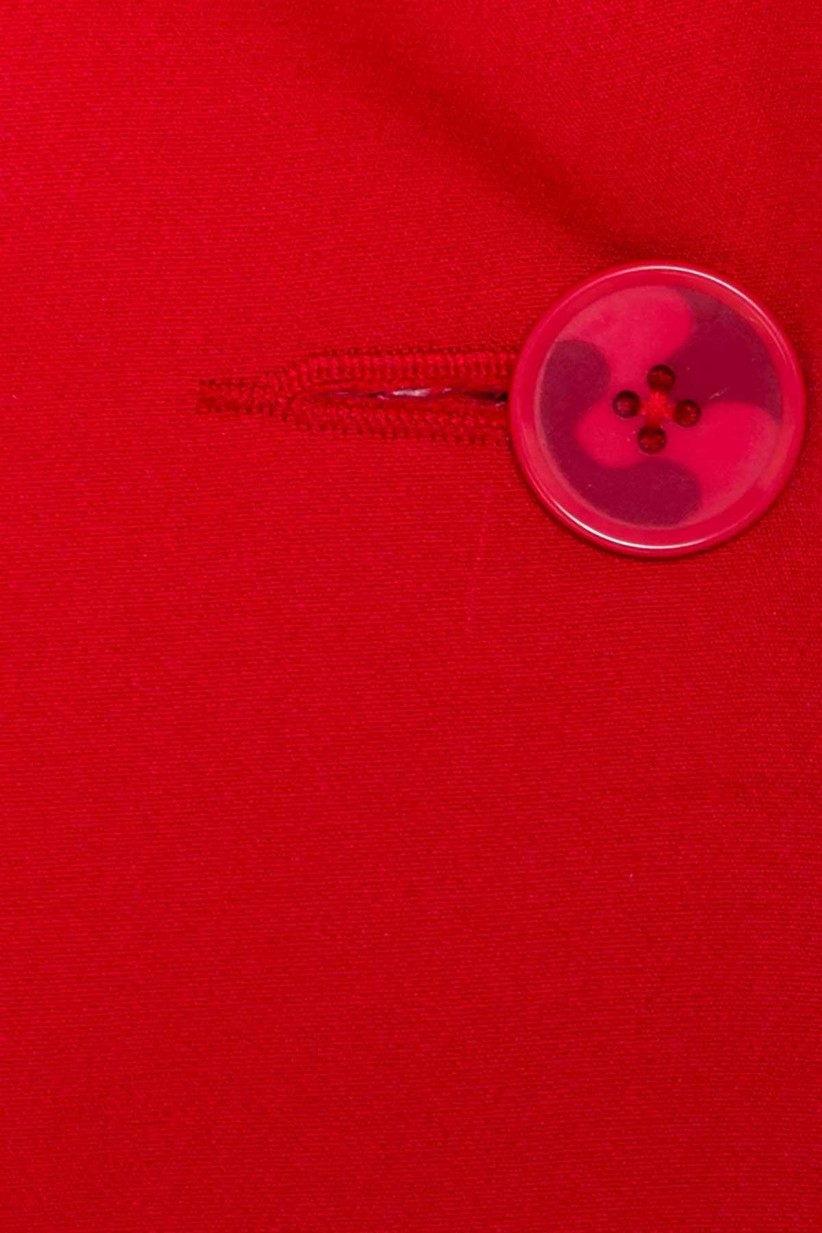 Однотонный приталенный жакет Эдвин 2734 АРТ. 15317 Цвет: Красный  - фото 7, интернет магазин tm-modus.ru