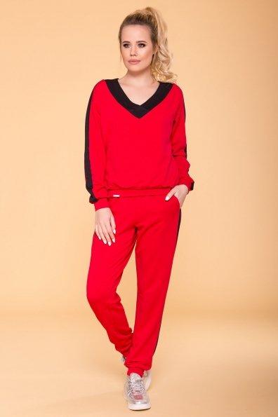 Костюм Стай 6736 Цвет: Красный/черный