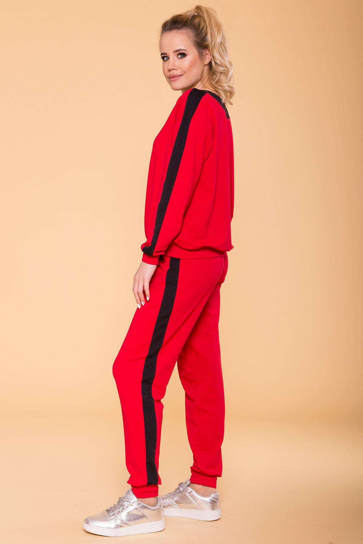 Костюм Стай 6736 АРТ. 41812 Цвет: Красный/черный - фото 2, интернет магазин tm-modus.ru