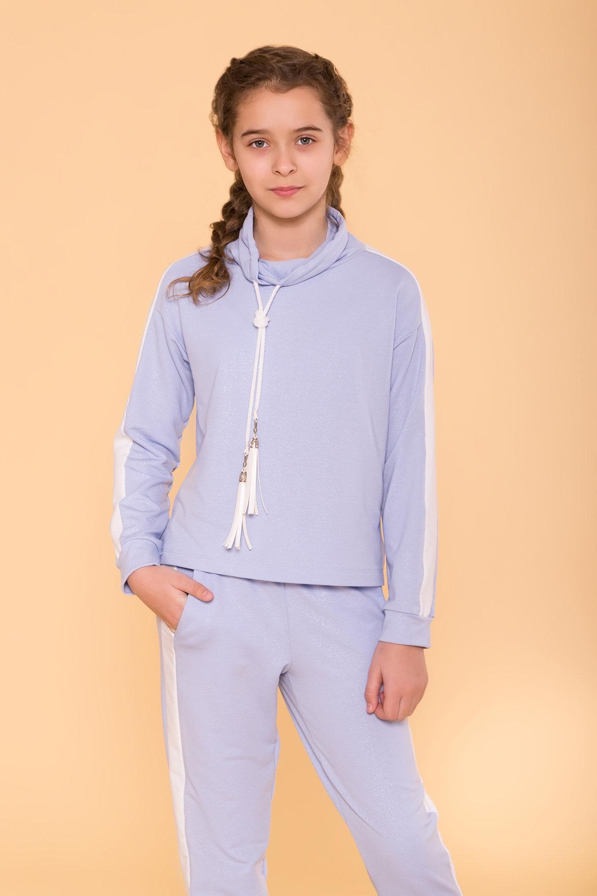 Костюм детский Дует кидс 6590 Цвет: Голубой/молоко