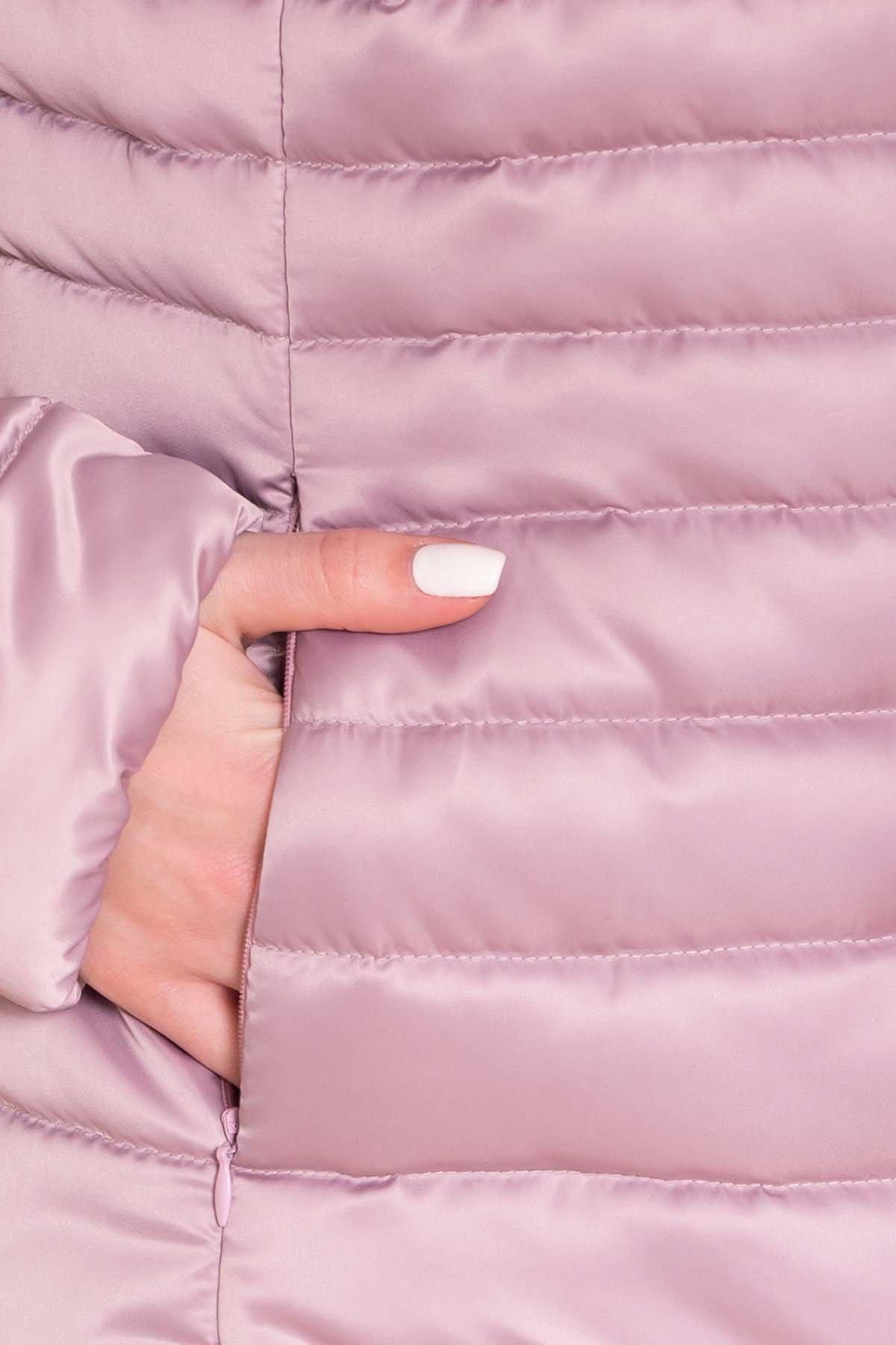 Куртка приталенная Лоррейн Лаке 6778 Цвет: Пудра Темная