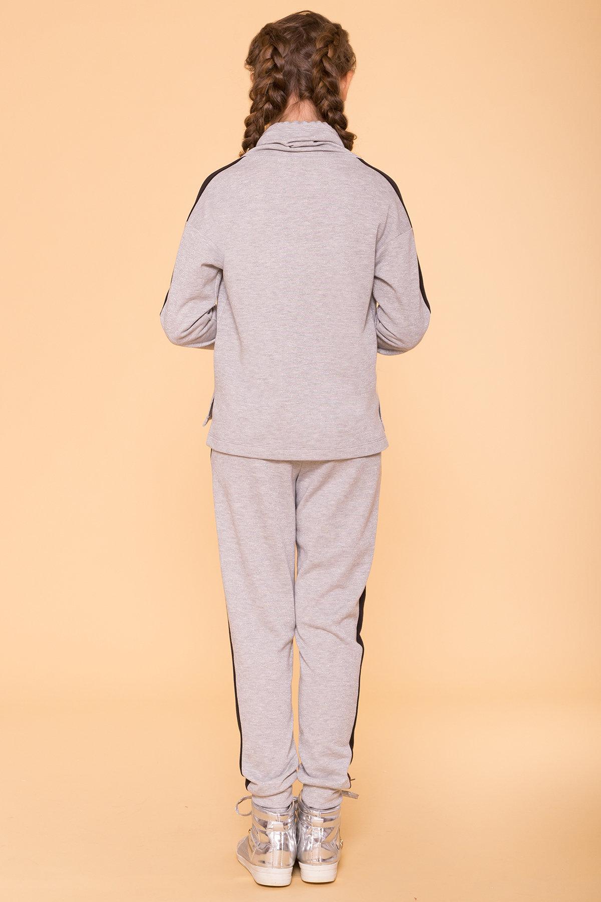 Костюм детский Дует кидс 6590 АРТ. 41793 Цвет: Серый/черный - фото 5, интернет магазин tm-modus.ru