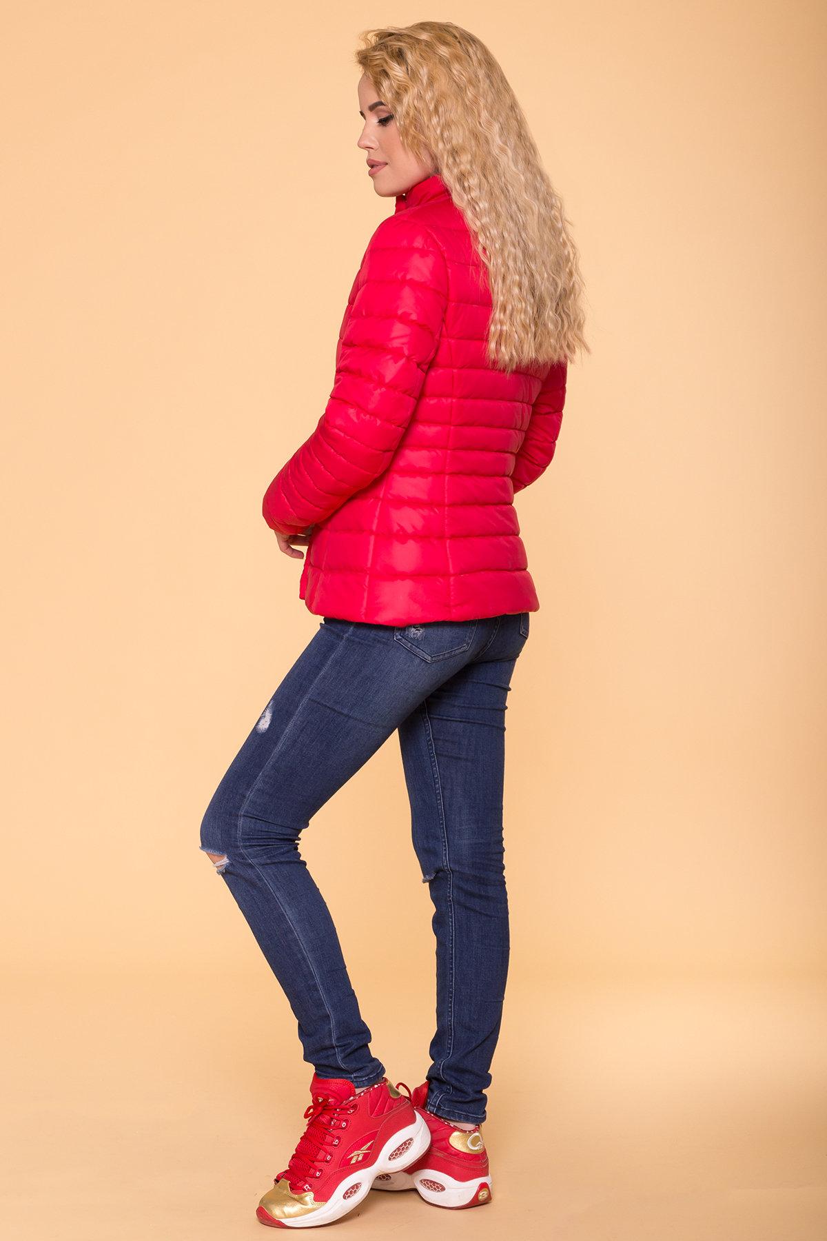 Куртка приталенная Лоррейн Лаке 6778 АРТ. 41904 Цвет: Красный - фото 2, интернет магазин tm-modus.ru