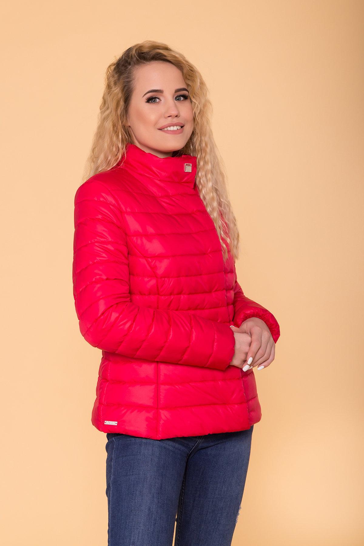 Куртка приталенная Лоррейн Лаке 6778 АРТ. 41904 Цвет: Красный - фото 4, интернет магазин tm-modus.ru