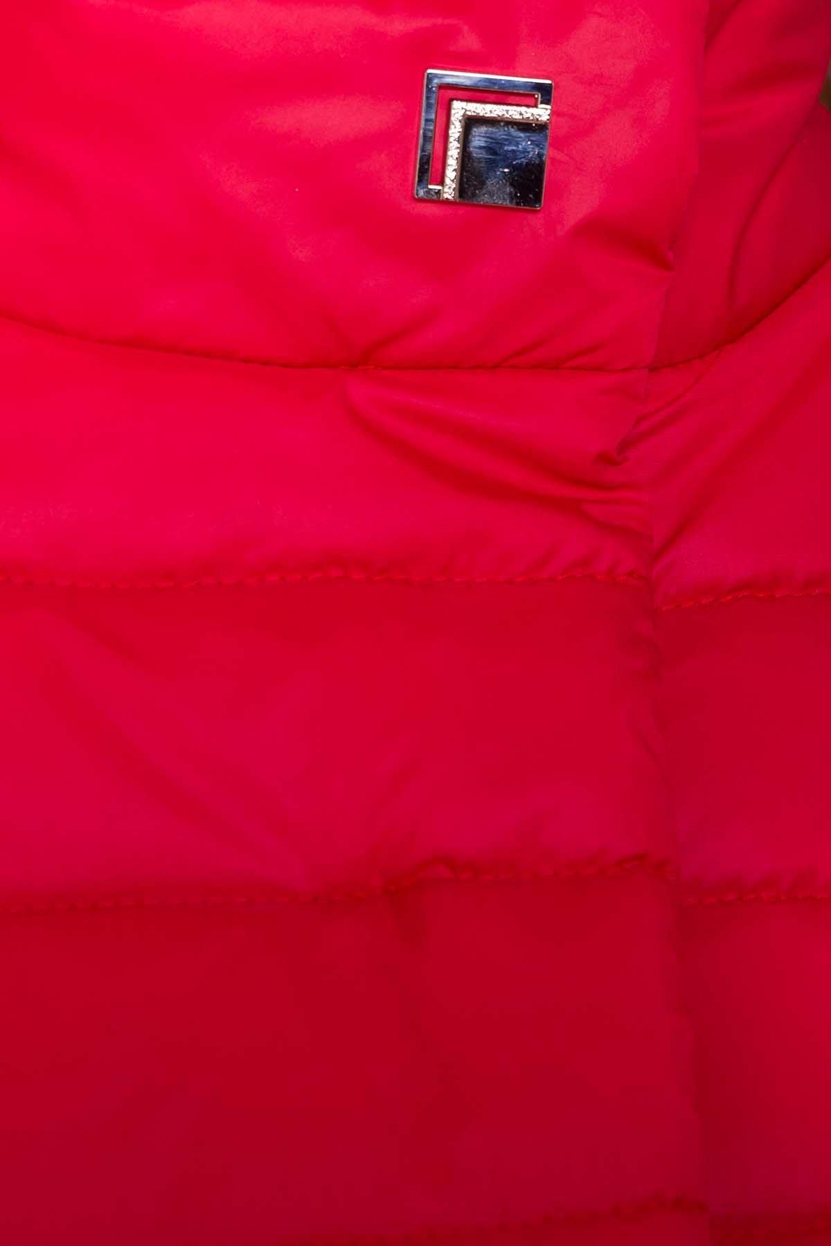 Куртка приталенная Лоррейн Лаке 6778 АРТ. 41904 Цвет: Красный - фото 5, интернет магазин tm-modus.ru