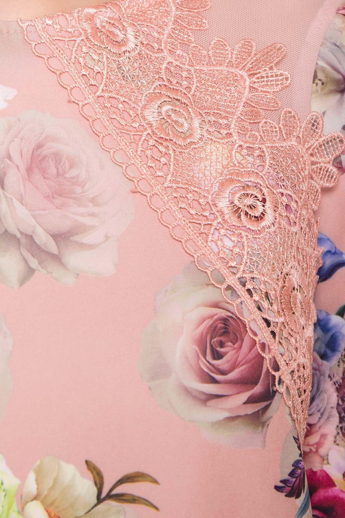 Платье Алексис 6752 АРТ. 41839 Цвет: Пудра Роза - фото 4, интернет магазин tm-modus.ru