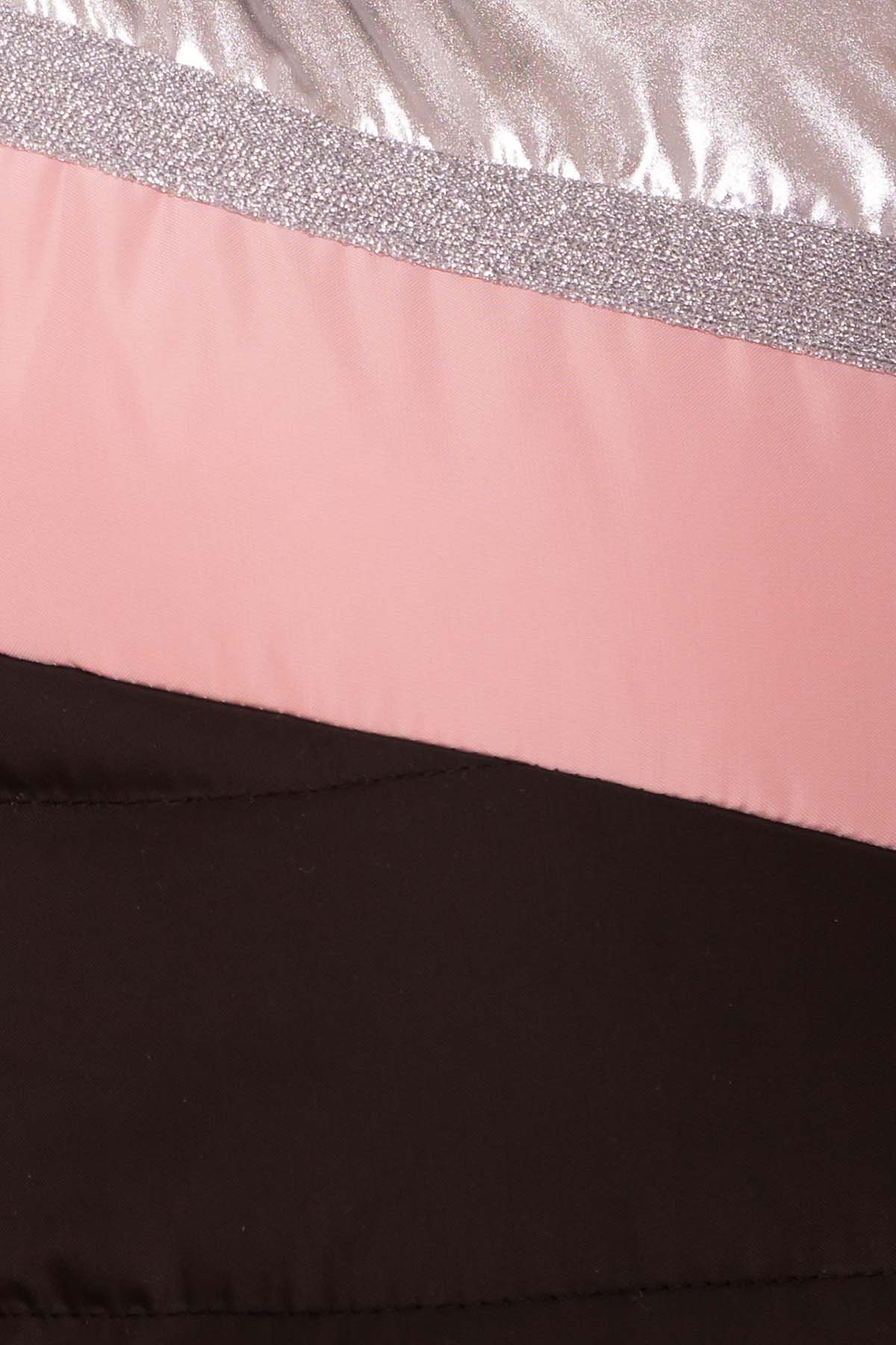 Жилет Симба 6525 Цвет: Пудра темная 64/Черный