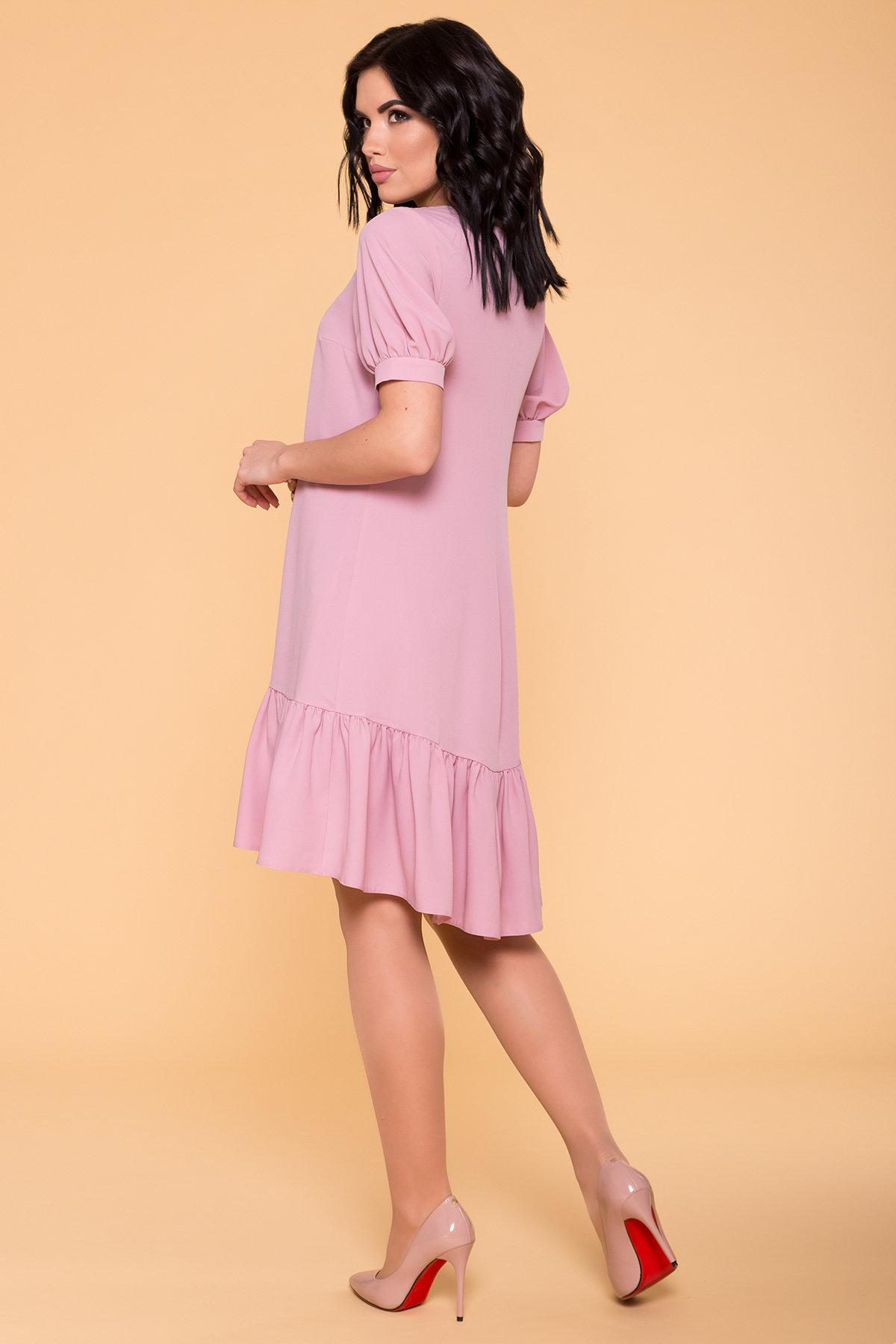 Платье Алиби 6730 АРТ. 41878 Цвет: Серо-розовый 007 - фото 2, интернет магазин tm-modus.ru