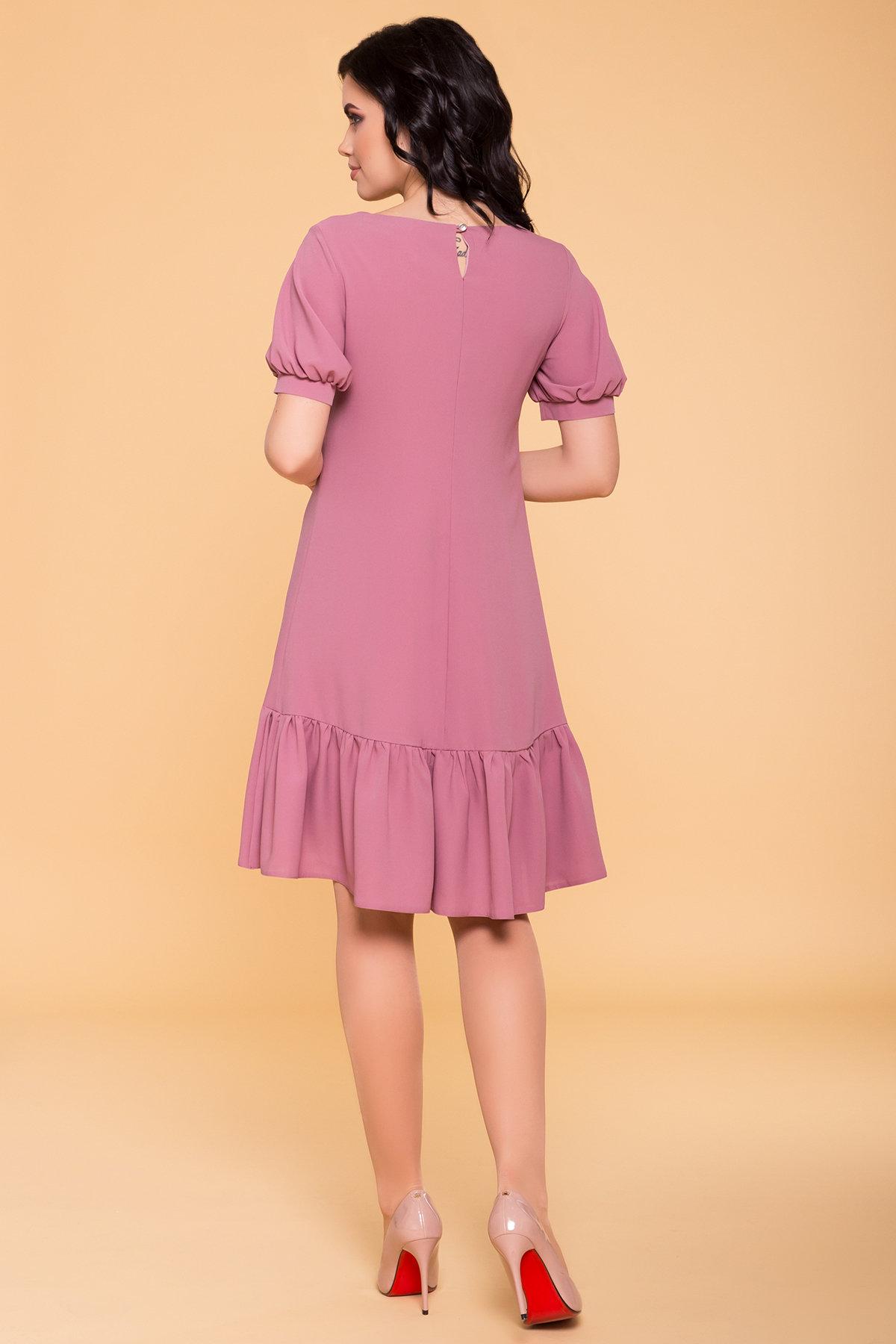 Платье Алиби 6730 АРТ. 41877 Цвет: Серо-розовый тёмный 008 - фото 2, интернет магазин tm-modus.ru