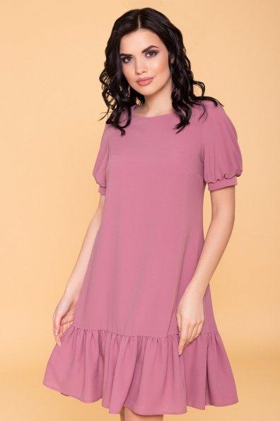 Платье Алиби 6730 Цвет: Серо-розовый тёмный 008