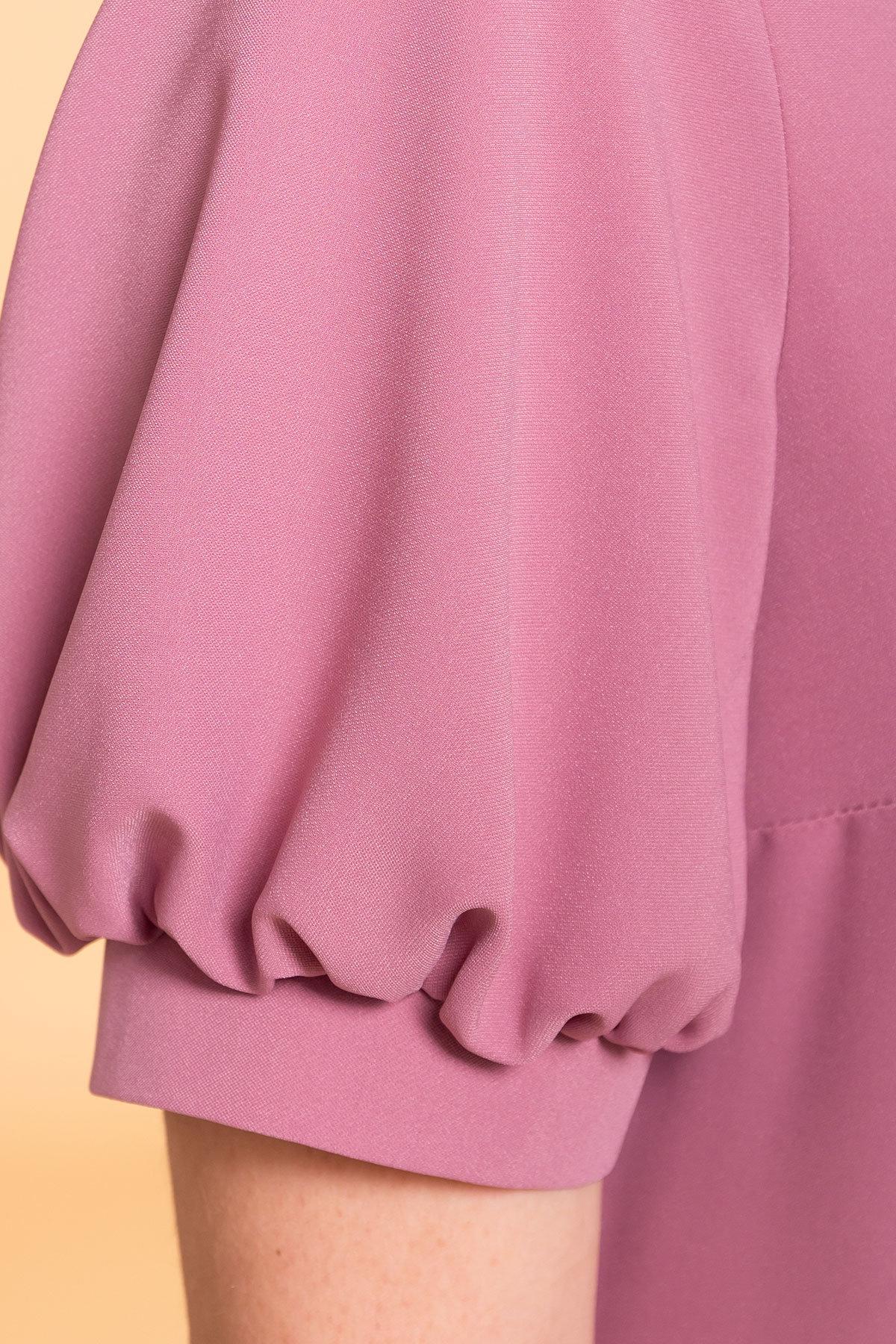 Платье Алиби 6730 АРТ. 41877 Цвет: Серо-розовый тёмный 008 - фото 4, интернет магазин tm-modus.ru