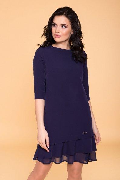 Платье Холли 6163 Цвет: Т.синий