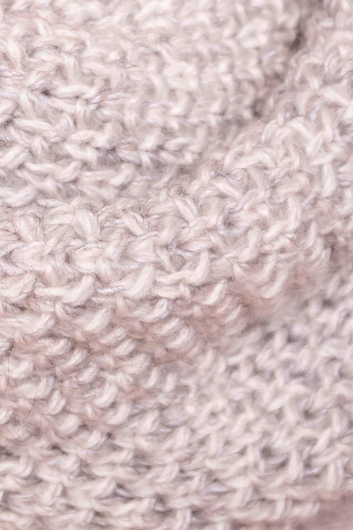 Шарф - хомут 3347 АРТ. 41740 Цвет: Молоко - фото 3, интернет магазин tm-modus.ru