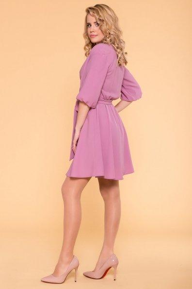 Платье с запахом Маринела 6518 Цвет: Сирень 9