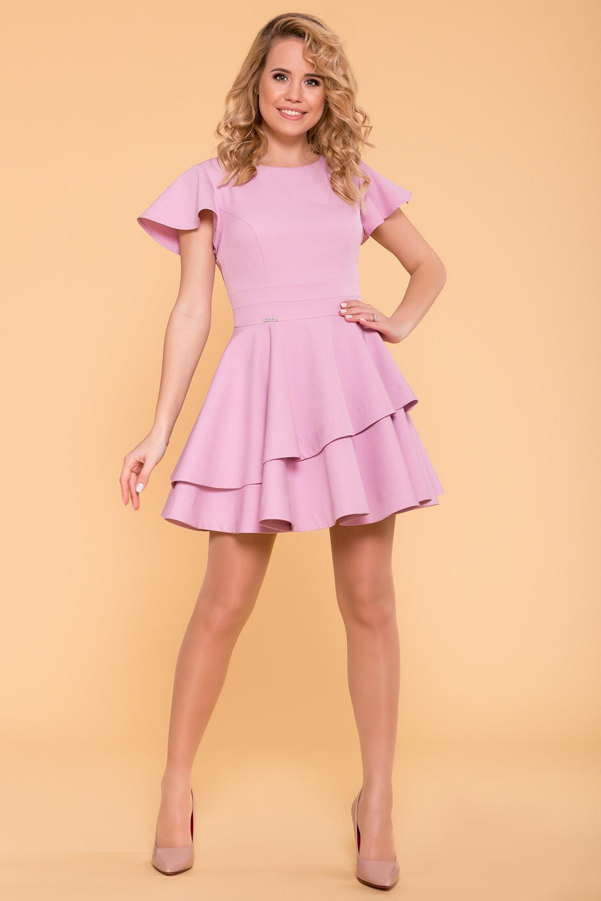 Платье Симур 6888 АРТ. 41987 Цвет: Пудра 3 - фото 2, интернет магазин tm-modus.ru