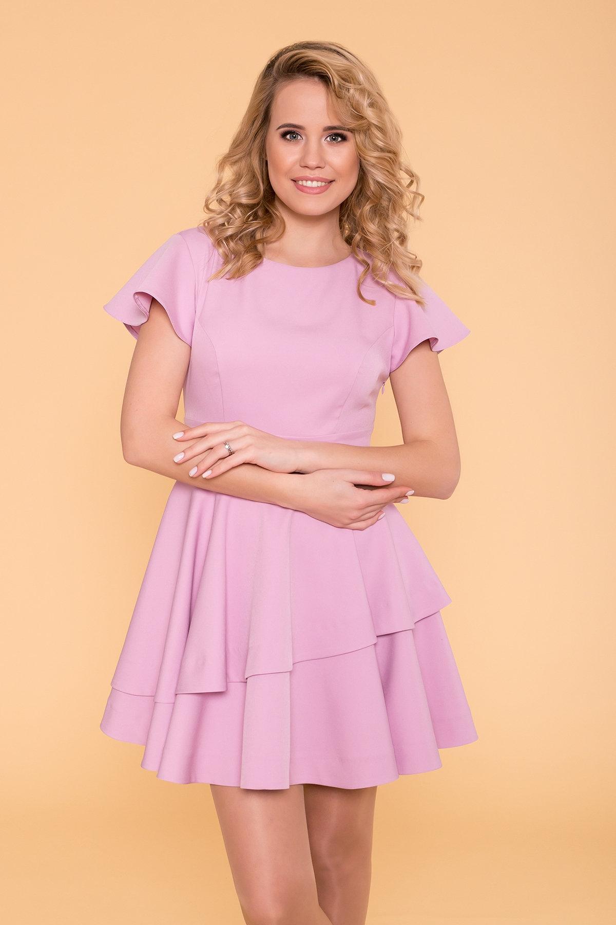 Платье Симур 6888 АРТ. 41987 Цвет: Пудра 3 - фото 6, интернет магазин tm-modus.ru