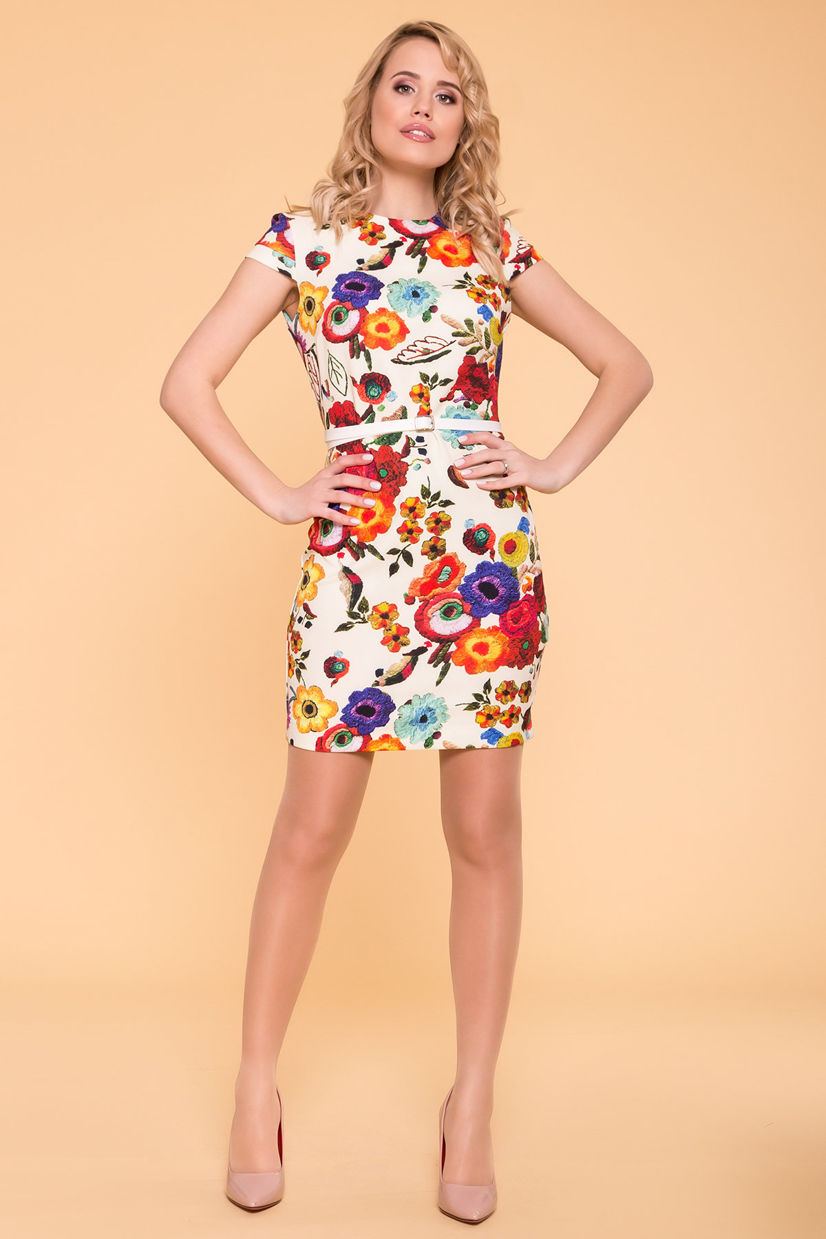 платье летние Платье Пиония лайт 942