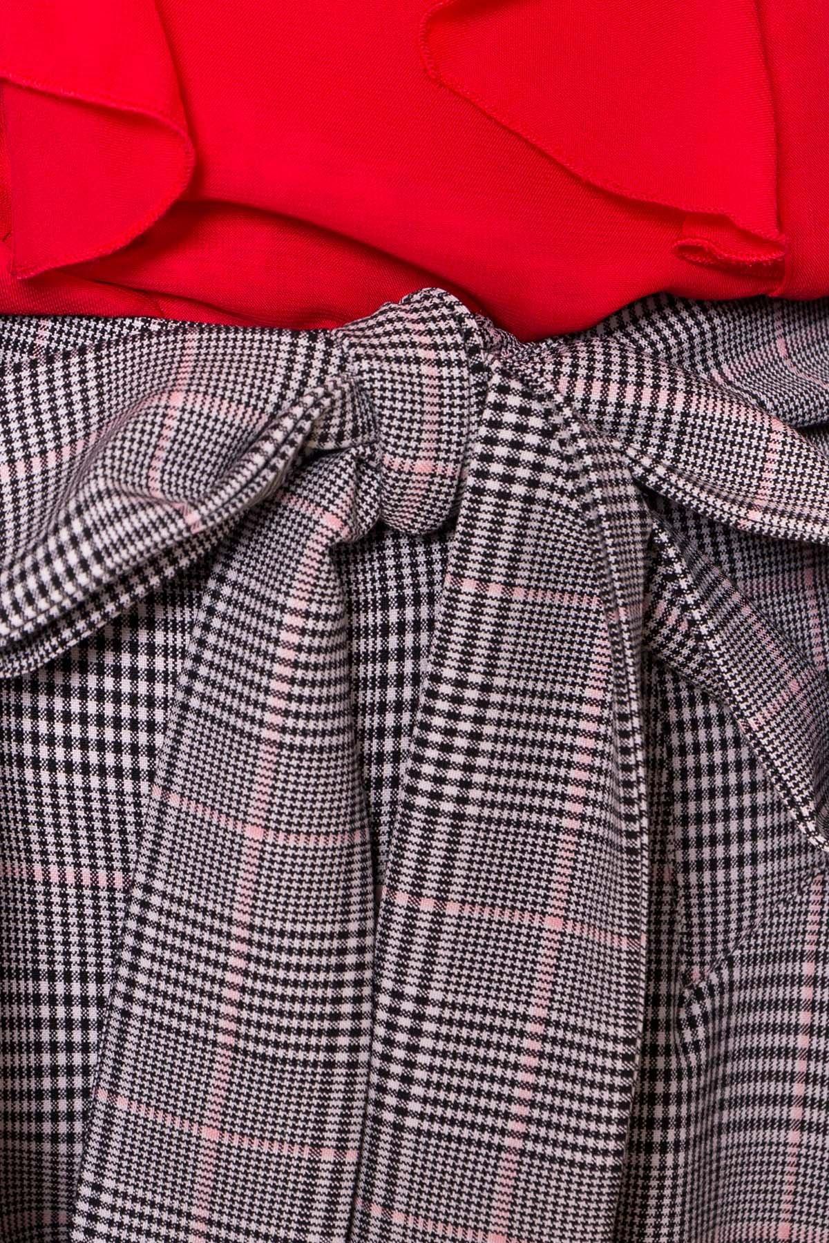 Шорты Камю 6882 Цвет: Черный/белый/пудра