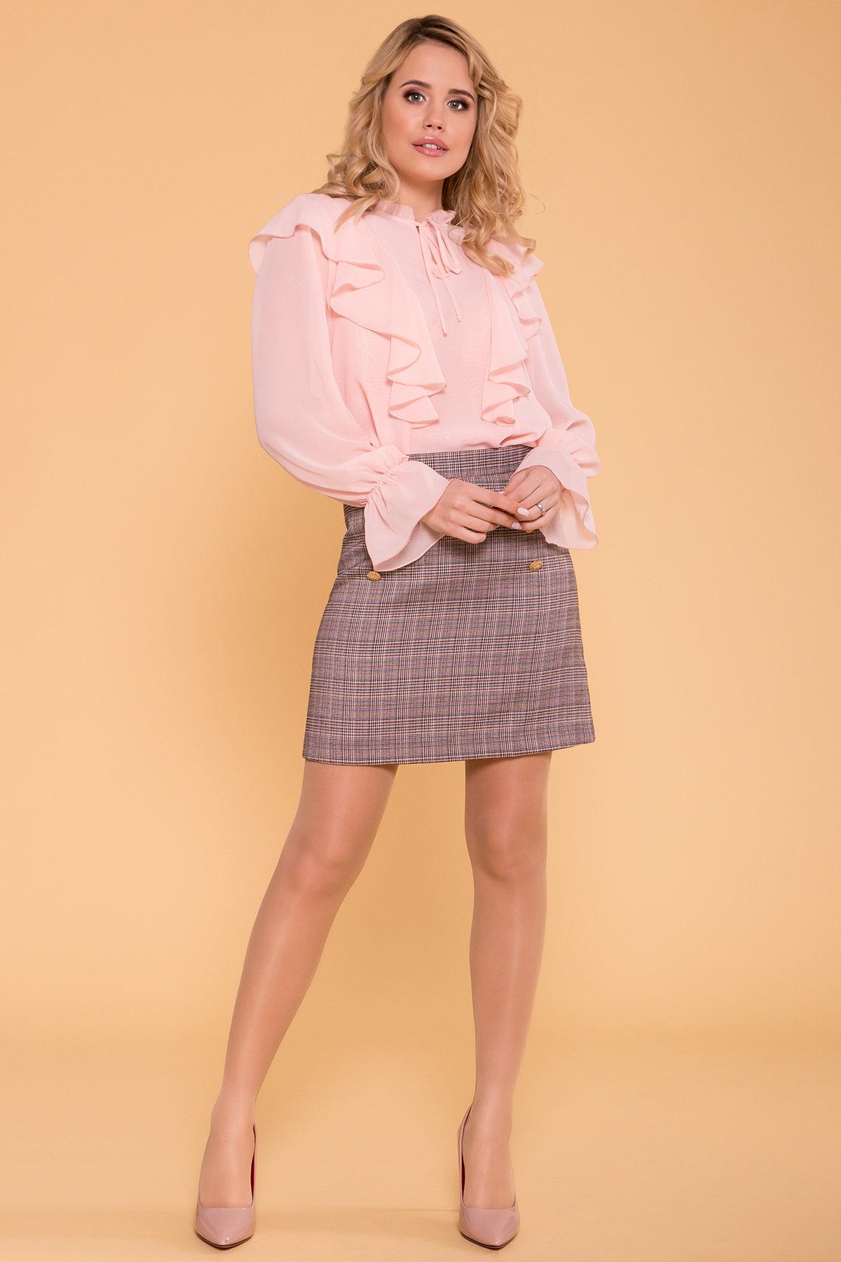 Блуза Дайан 6754 Цвет: Пудра 5