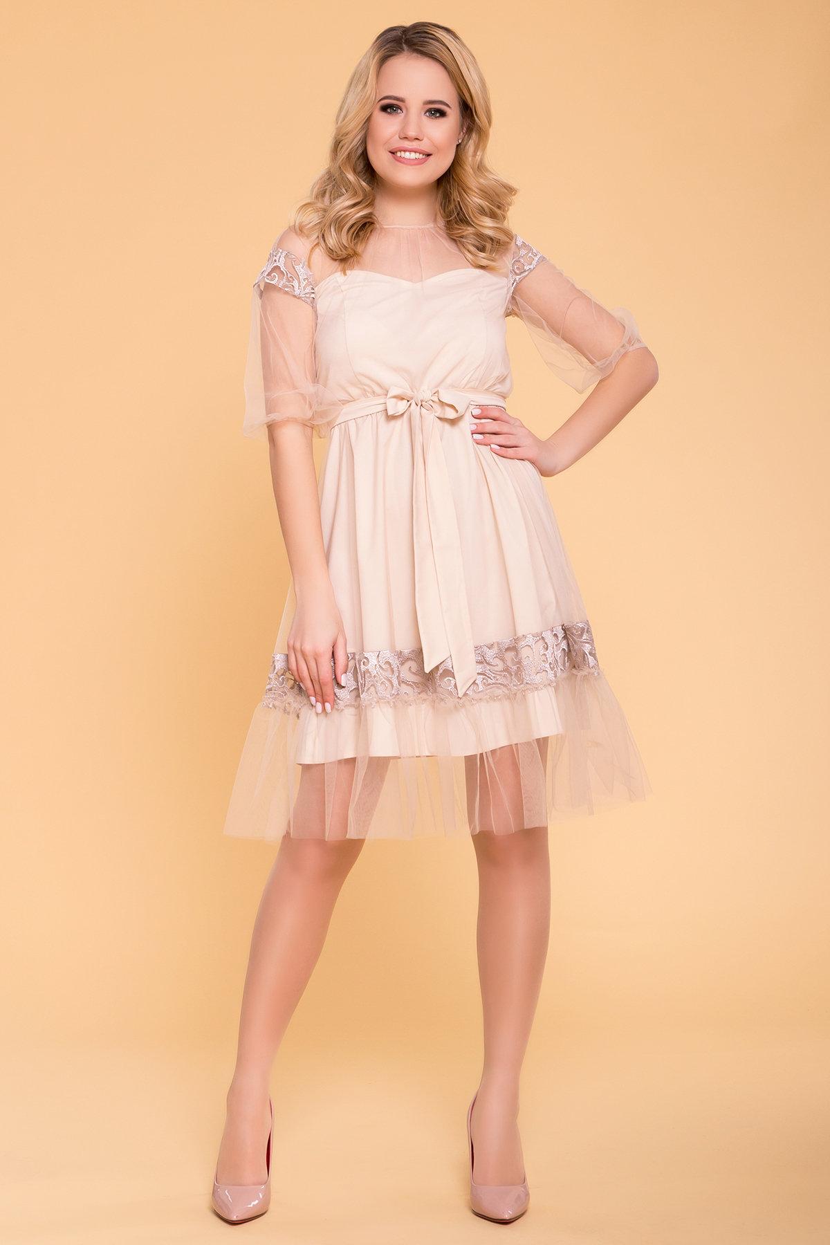 Весенние платья от производителя Нарядное Платье Фая 6649