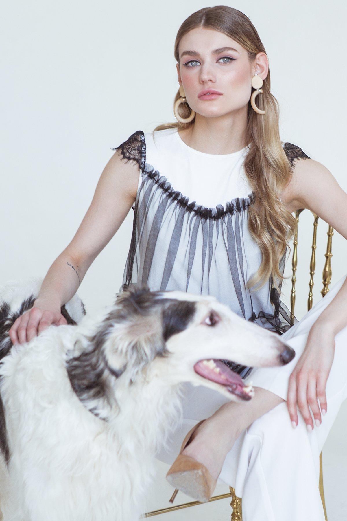 Купить в Украине рубашки женские от производителя Топ Кафа 5075