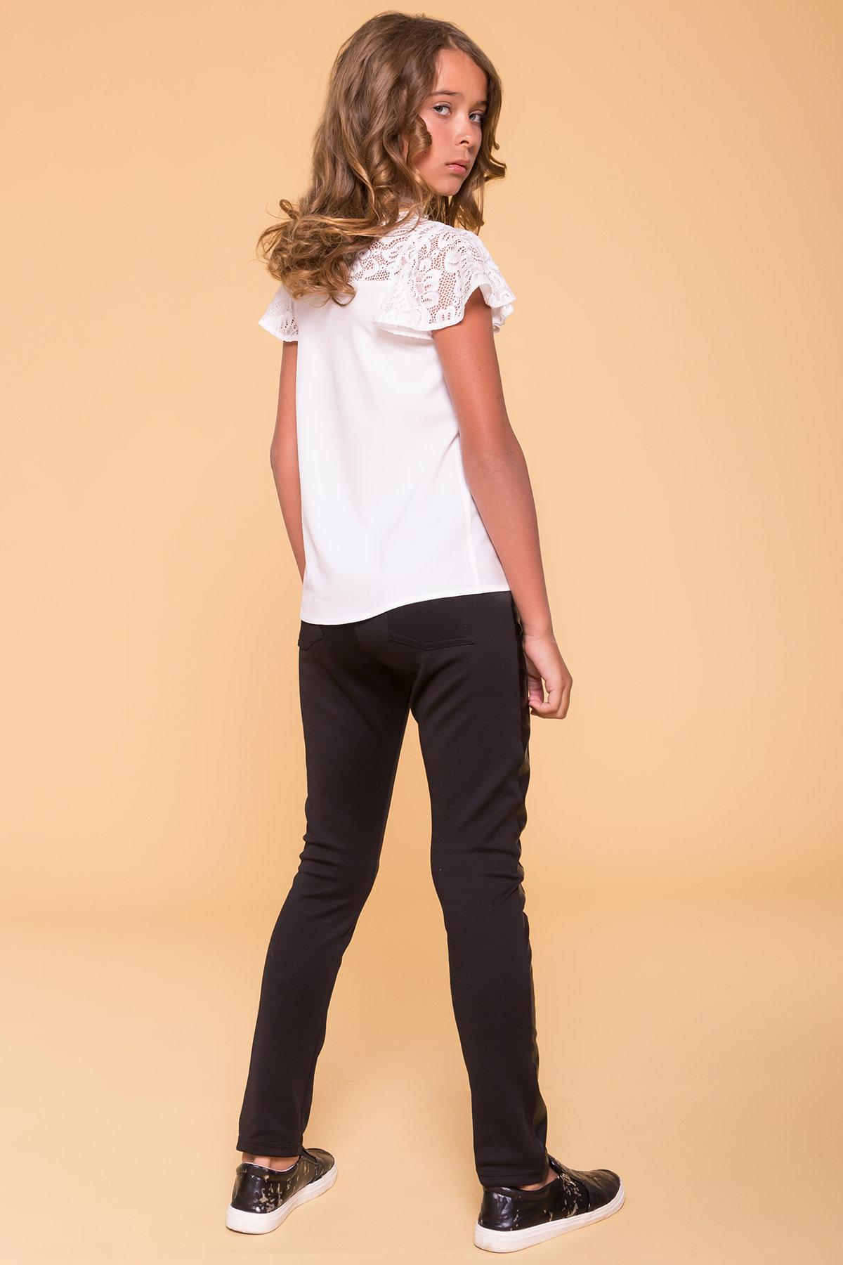 Блуза детская Лола 5221 Цвет: Белый