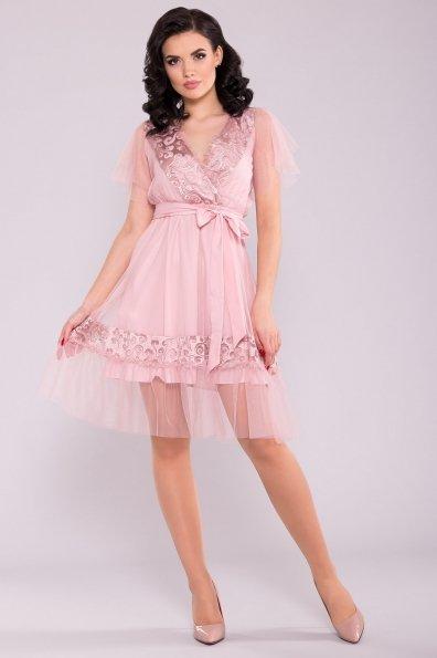Платье Риана 6701 Цвет: Пудра светлая 11