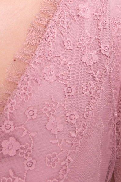 Платье Риана 6701 Цвет: Серо-розовый 175