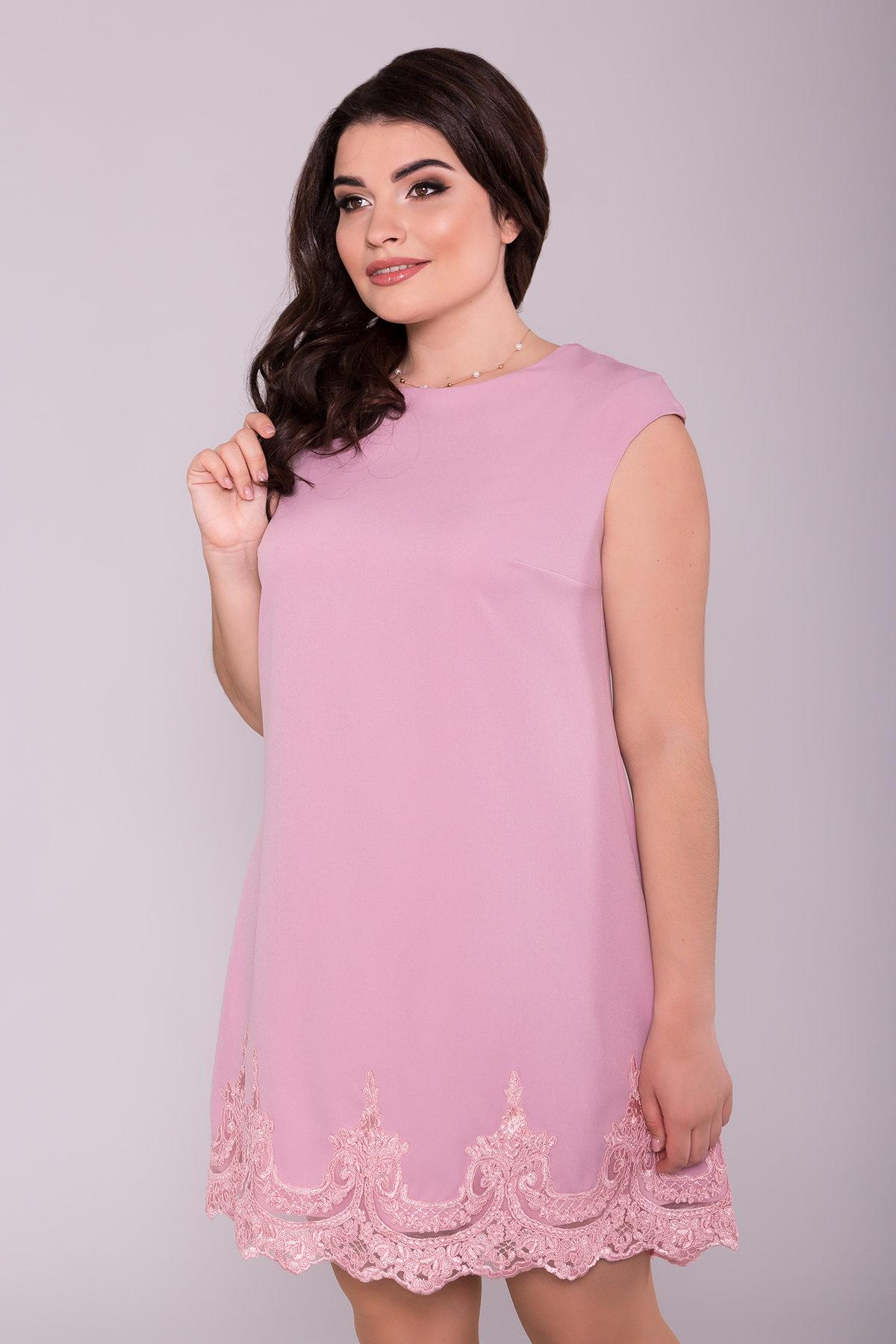 Платье Лера Donna 5050 Цвет: Пудра темная 20