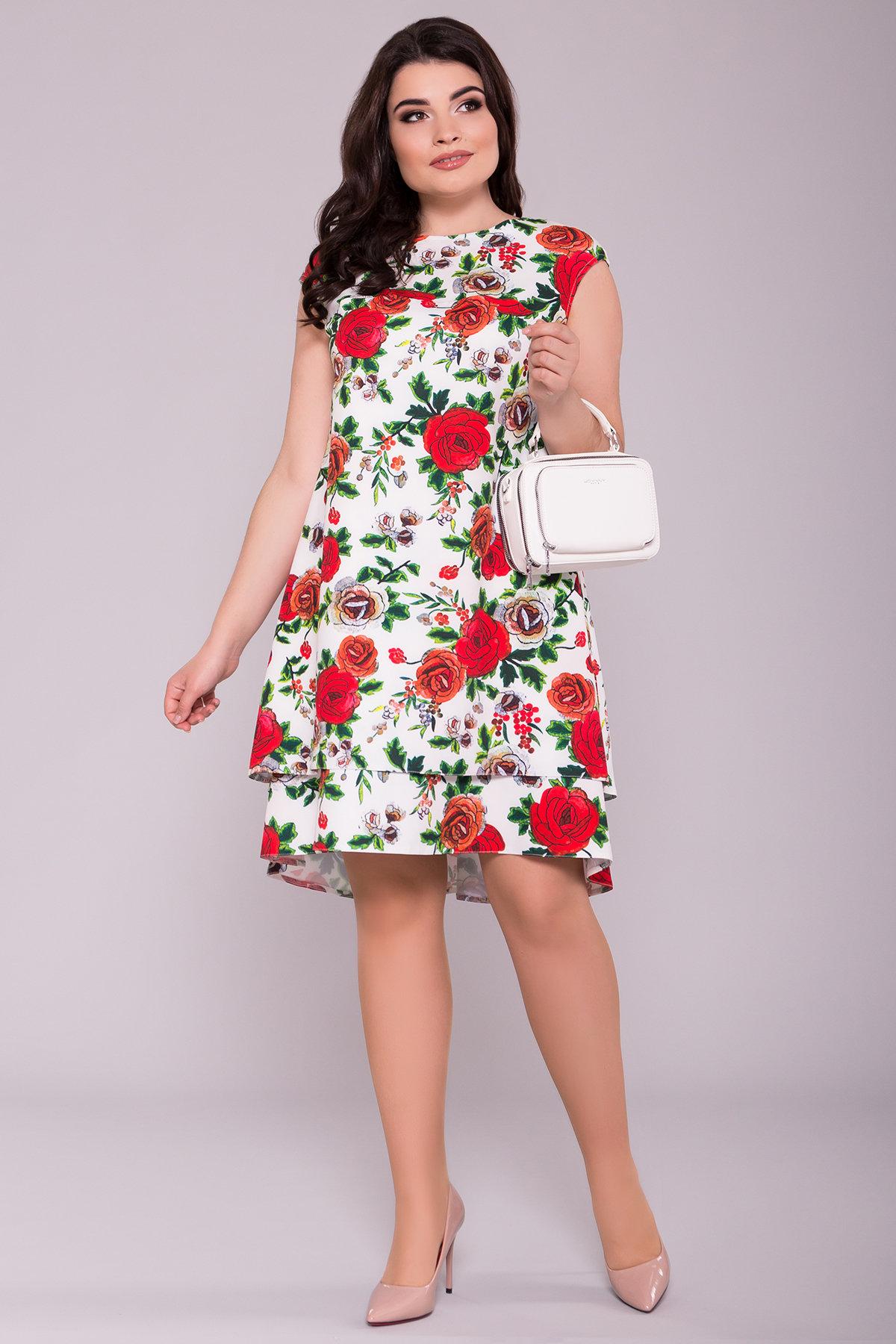 Женские платья оптом Платье Делафер DONNA 6885