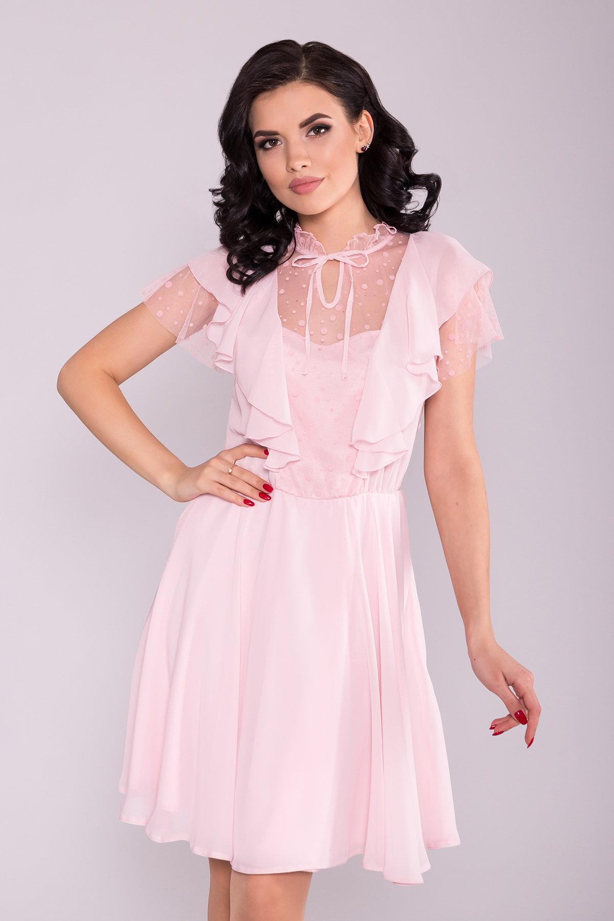 Платье Дали 6992 Цвет: Розовый Светлый