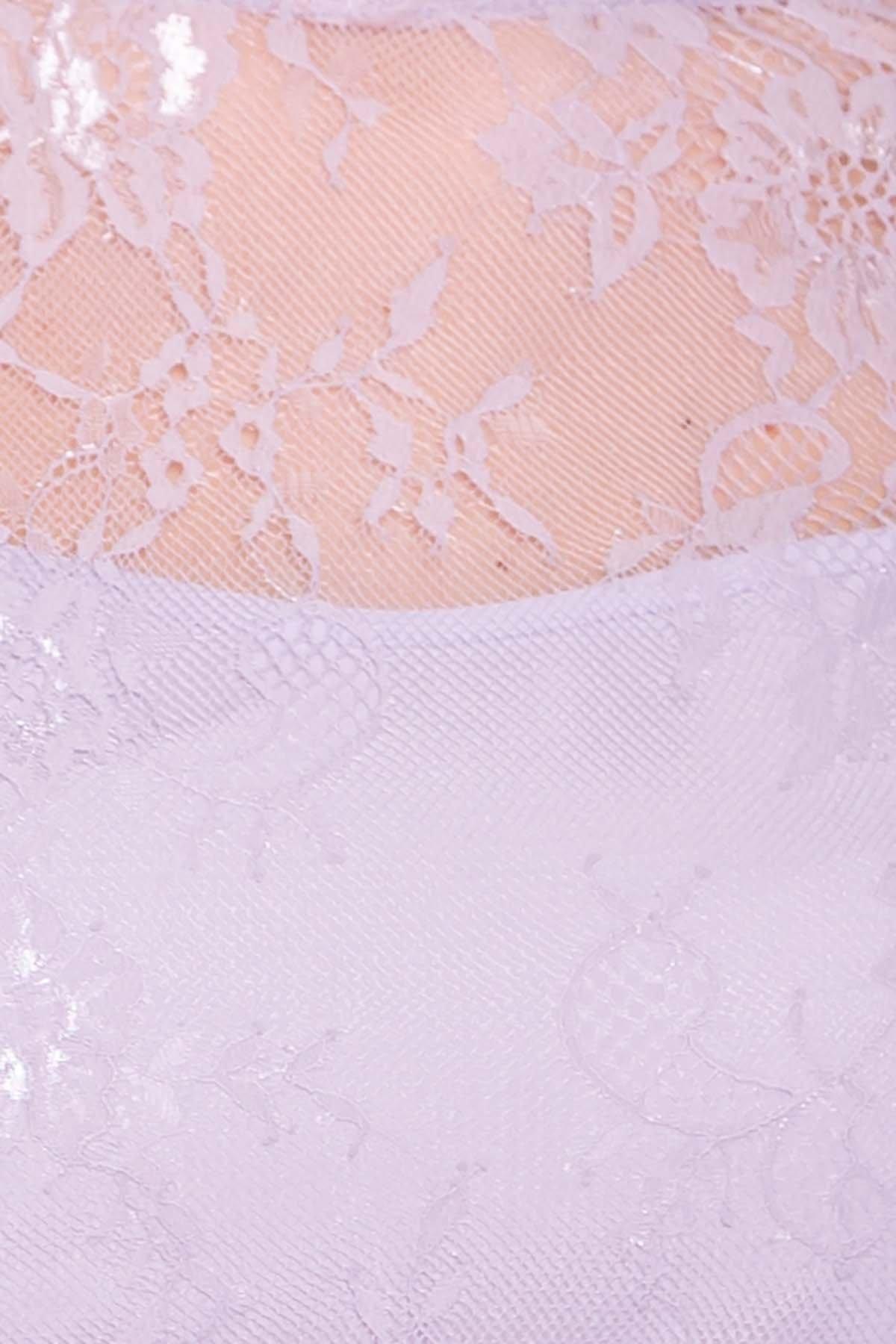 Платье Амур 6872 АРТ. 41986 Цвет: Серо-голубой/серо-голубой - фото 7, интернет магазин tm-modus.ru