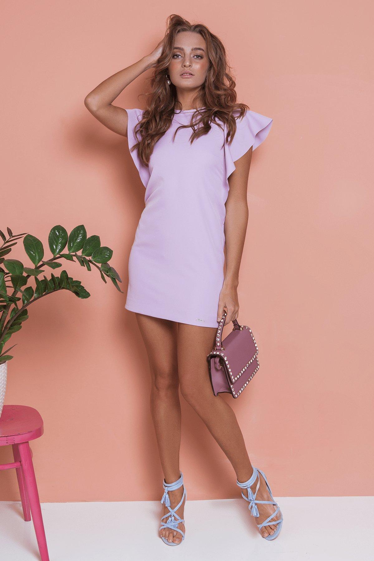 Платье Айла  4878 Цвет: Пудра светлая