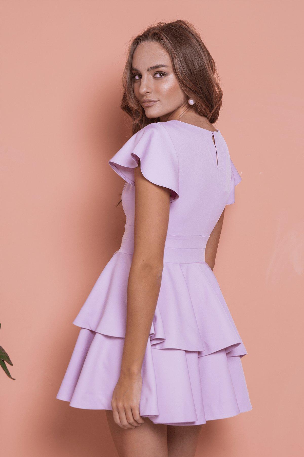 Платье Симур 6888 АРТ. 41987 Цвет: Пудра 3 - фото 5, интернет магазин tm-modus.ru