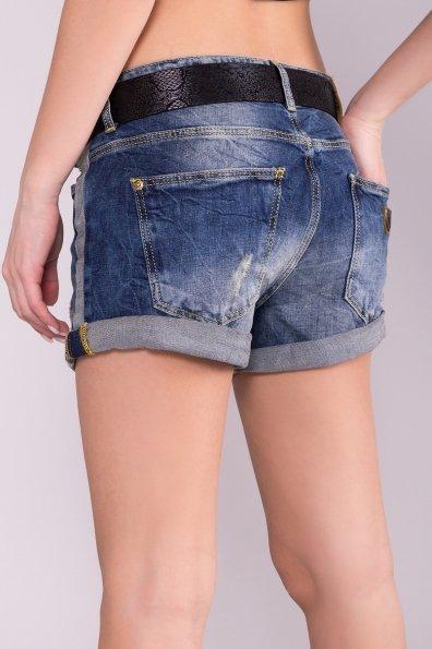 Шорты джинс  7038 Цвет: Синий