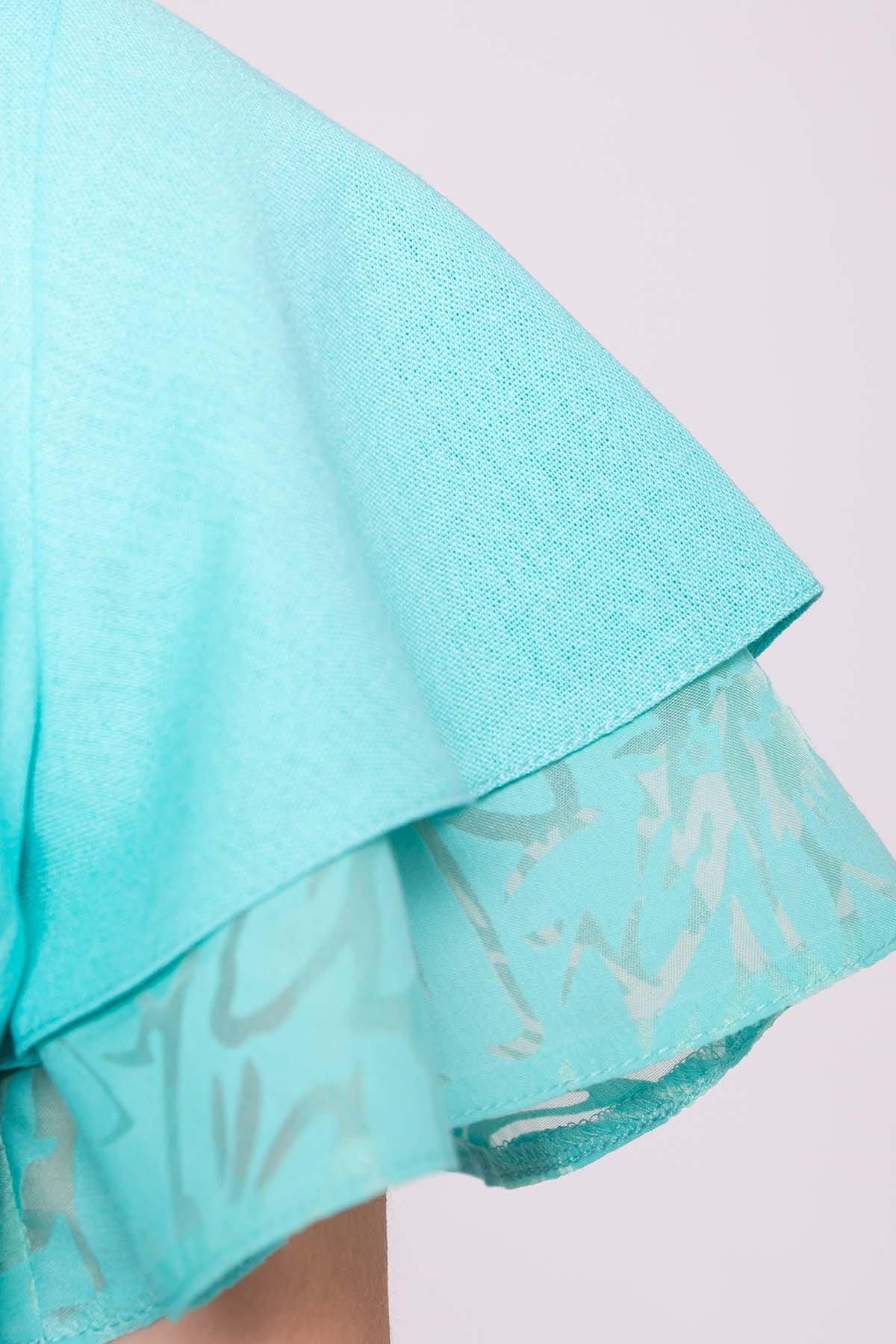 Платье Романтик 4986 Цвет: Мята
