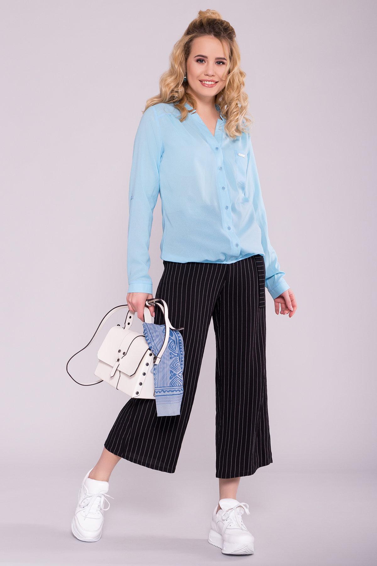 Модные женские брюки Брюки в полоску Ким 7106