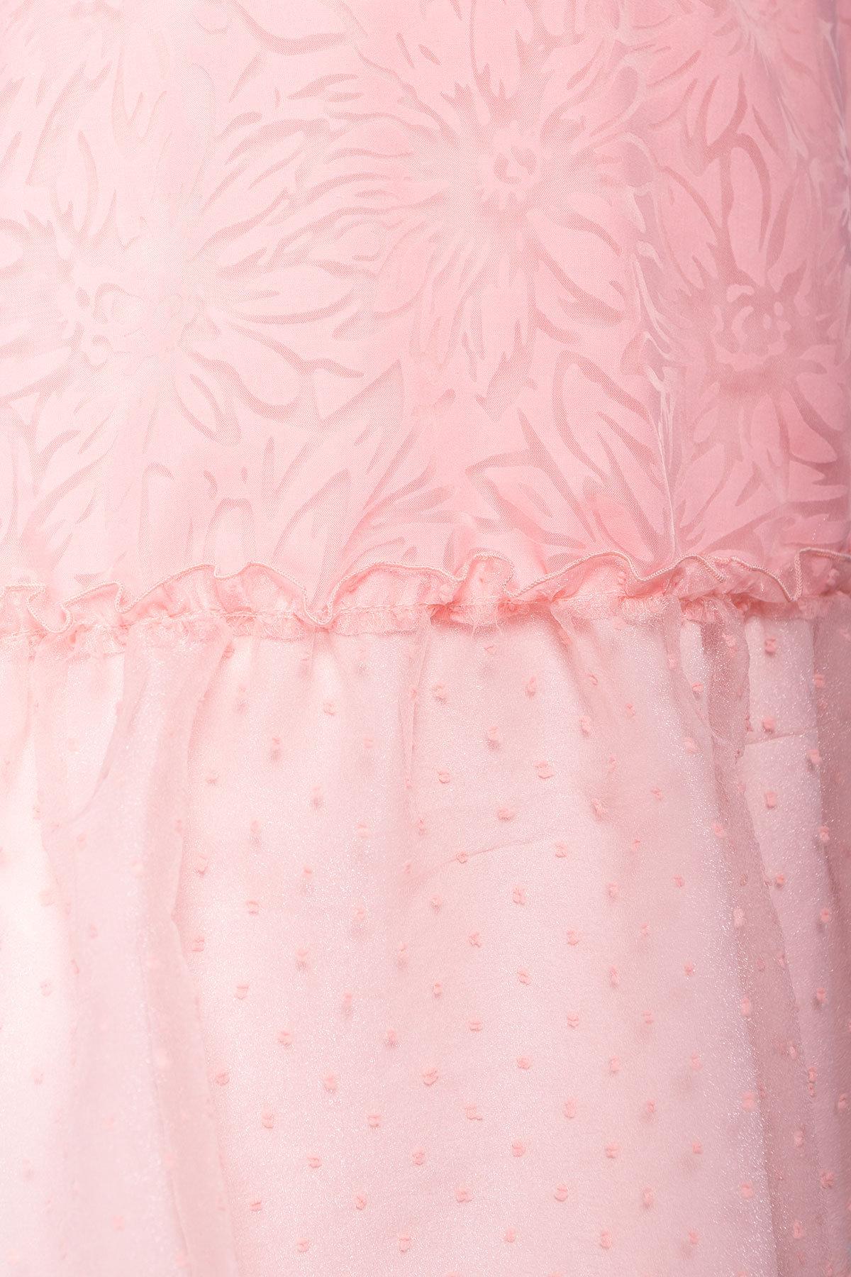 Платье Манила 6978 АРТ. 42368 Цвет: Пудра/мушка/Пудра - фото 4, интернет магазин tm-modus.ru